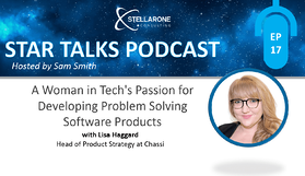 PODCAST:A Woman in Tech's Passion for Developing Problem Solving Software Products