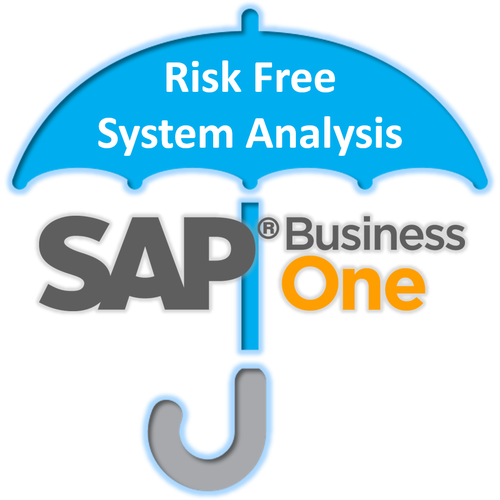 Get an SAP Business One ERP Software Risk Free System Analysis performed by Stellar One Consulting, a top-rated SAP Gold Partner.