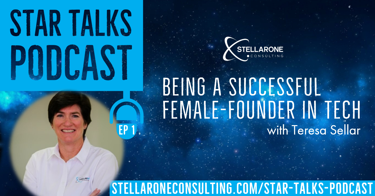 Teresa Sellar, Being a Successful Female Founder in Tech on Star Talks Podcast