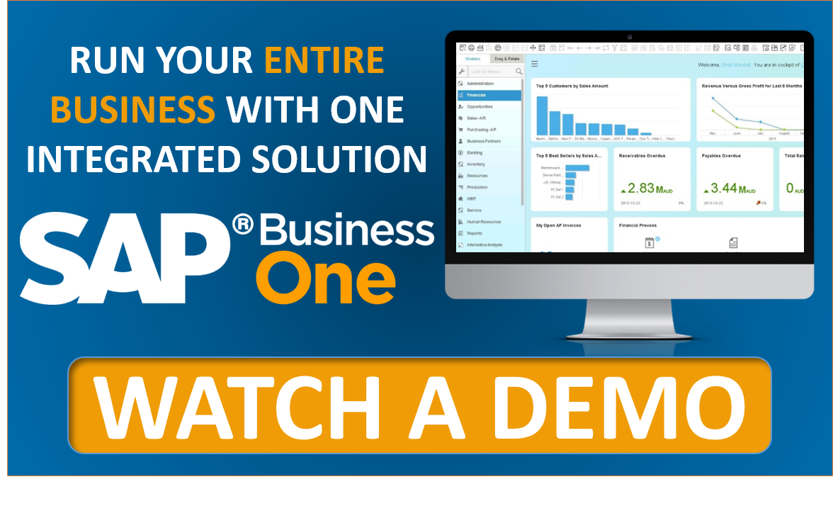 Watch a Demo of SAP Business One Cloud ERP with Stellar One