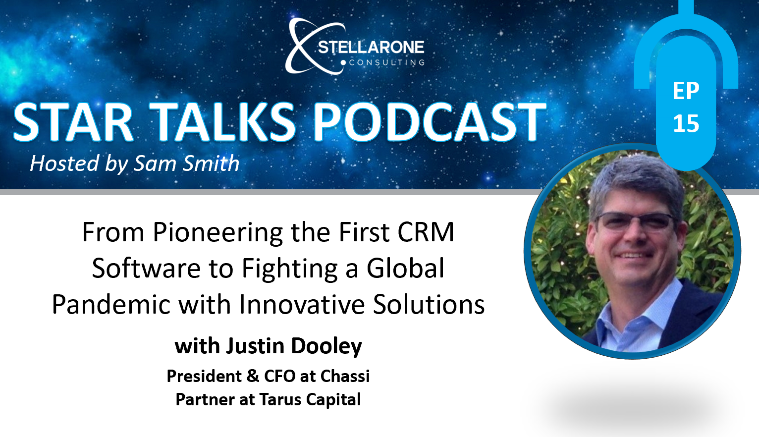 PODCAST:From Pioneering the First CRM Software to Fighting a Global Pandemic with Innovative Solutions