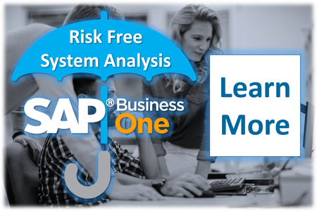 Get SAP Business One working better with a Risk Free Analysis by Stellar One Consulting